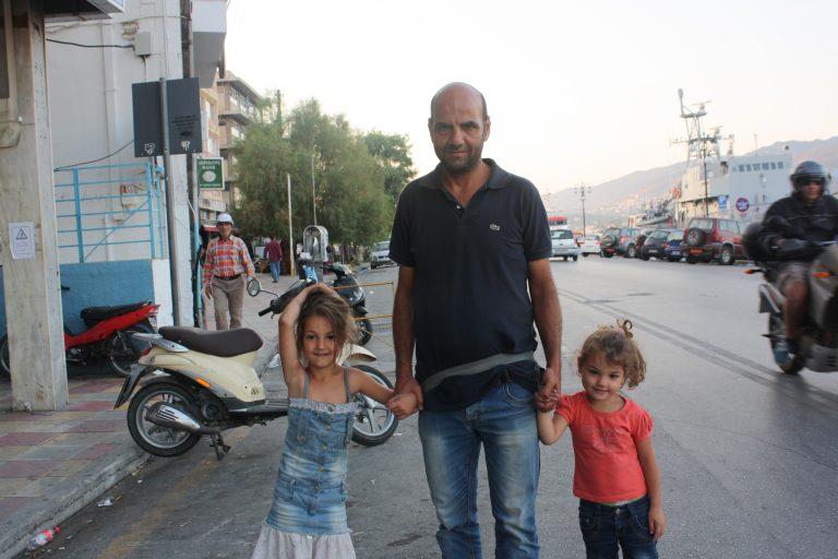 Lesbos, 2015. Retrats de refugiats.